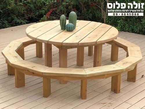 שולחן קקל ילדים עגול