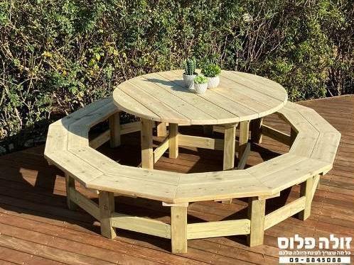 שולחן קקל עגול ענק