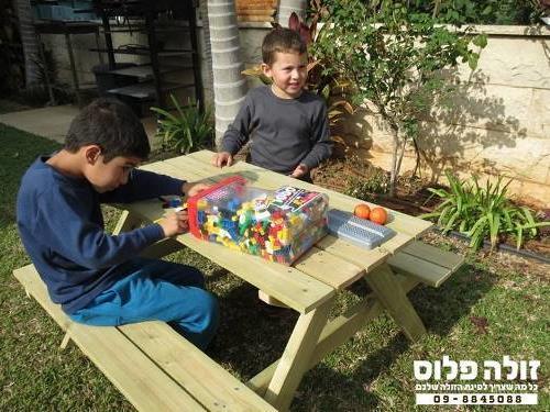 שולחן קקל ילדים