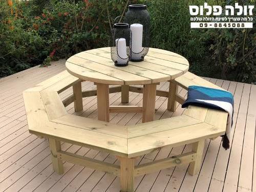 שולחן קקל עגול